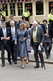 ANNABEL ELLIOT Photo - WINDSOR APRIL 9 2005    Annabel Elliot (sister of Camilla) arriving for Princes Charles wedding to Camilla Parker Bowles at Windsor Town Hall