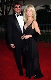 Heather Locklear Photo - 19JAN97  Actress HEATHER LOCKLEAR  husband RITCHIESAMBORA at the Golden Globe Awards      Please Credit Pix JEAN CUMMINGS