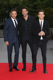 Liam Payne Photo - Liam Payne  Ben Haenow  Louis Tomlinson at the Believe In Magic Cinderella Ball held at the Natural History Museum London August 10 2015  London UKPicture James Smith  Featureflash