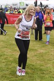 Aliki Chrysochou Photo - Aliki Chrysochou at the start of the 2015 London Marathon Blackheath Common Greenwich London 26042015 Picture by Steve Vas  Featureflash