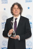 Alan Davies Photo - Alan Davies in the winners room at The National Television Awards (NTAs) 2013 held at the O2 arena London 23012013 Picture by Henry Harris  Featureflash