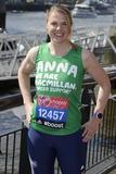 Anna Watkins Photo - Anna Watkins at the photocall for celebs running the 2014 London Marathon London 09042014 Picture by Steve Vas  Featureflash