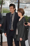 Benicio Del Toro Photo - Benicio Del Toro  Gina McKee at the photocall for their movie Jimmy P Psychotherapy of a Plains Indian in competition at the 66th Festival de CannesMay 18 2013  Cannes FrancePicture Paul Smith  Featureflash