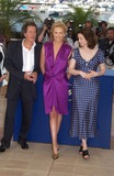 Geoffrey Rush Photo - CHARLIZE THERON  GEOFFREY RUSH  EMILY WATSON at photocall at the Cannes Film Festival for their new movie The Life  Death of Peter SellersMay 21 2004