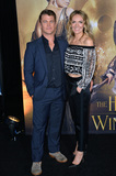 LUKE HEMSWORTH Photo - LOS ANGELES CA April 11 2016 Luke Hemsworth  wife Samantha at the US premiere of The Huntsman Winters War at the Regency Village Theatre WestwoodPicture Paul Smith  Featureflash