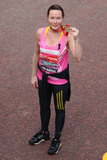 Amanda Mealing Photo - Amanda Mealing finishes the 2013 London Marathon on The Mall London 22042013 Picture by Steve Vas  Featureflash
