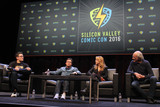 Lea Thompson Photo - Michael J Fox Lea Thompson Christopher Lloyd 03192016 Silicon Valley Comic Con 2016 held at the San Jose Convention Center in San Jose CA Photo by Kazuki Hirata  HollywoodNewsWirenet