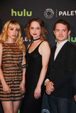 Fiona Dourif Photo - Hannah Marks Fiona Dourif Elijah Wood 10182016 PaleyLive LA premiere event Dirk Gentlys Holistic Detective Agency Screening  Conversation held at The Paley Center for Media in Beverly Hills CA Photo by Izumi Hasegawa  HollywoodNewsWireco