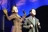 Sarah Lancashire Photo - London UK Sarah Lancashire as Joyce Chilvers Reece Shearsmith as Gilbert Chilvers at the Betty Blue Eyes Photocall held at the Novello Theatre 4th April 2011Matt LewisLandmark Media