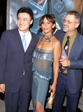 Christine Boisson Photo - Joong-hoon Park Jonathan Demme and Christine Boisson K26766tr World Premiere the Truth About Charlie the Academy of Motion Picture Arts and Sciences Beverly Hills CA October 16 2002 Photo by Tom RodriguezGlobe Photos Inc