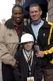 Jackie Joyner-Kersee Photo - The City of Los Angeles Marathon 20th Anniversary March 6 2005 in Los Angeles Runner Jackie Joyner Kerseematt Devine (Son) and Christopher Devine Photo by Valerie Goodloe-Globe Photos Inc 2005