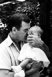 Gig Young Photo - Gig Young and Daughter Jennifer Bill KobrinGlobe Photos Inc