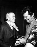 Johnny Carson Photo - Johnny Carson and James Garner at the Surprise Party For Johnny and Ed 10241978 1970s 3078 Nate CutlerGlobe Photos Inc