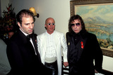 Phil Spector Photo - Sd0318 Rocknroll Hall of Fame Induction Party at Giambelli in New York City Paul Schaffer_phil Spector Photo Byrick MacklerrangefinderGlobe Photos Inc 2000 Philspectorretro