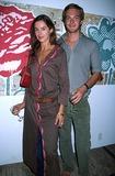 Allegra Hicks Photo - Allegra Hicks Springsummer 2003 Fashion Show NYC 092002 Photo by Rose HartmanGlobe Photos Inc 2002 Miranda Brooks and Husband Sebastian