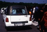 Left Eye Lopes Photo - Funeral Services For Lisa Left Eye Lopes Georgia 050202 Photo by John KrondesGlobe Photos Inc