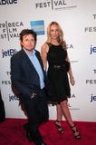 Michael J Fox Photo - Trust Me Premiere Tribeca Performing Arts Center Ny4-20-2013 Photo by - Ken Babolcsay IpolGlobe Photo 2013 Michael J Fox Tracy Pollan