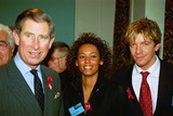 Princess Diana Photo - Alpha Cn_m042638 23_11_00 Prince Charles Mel B (Spice Girls)  Max Beesley London Lighthouse Terence Higgins Aids Trust (Princess Dianas Former Charity) in London