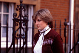 Lady Diana Photo - Princess Diana  Then Lady Diana Spencer Leaving Her Apertment at 60 Coleherne Street London 031719 Photo by Alpha-Globe Photos