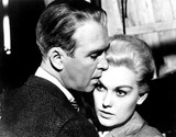 James Stewart Photo - James Stewart and Kim Novak in Vertigo 1958 Supplied by SmpGlobe Photos Inc
