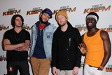 Gym Class Heroes Photo - 1027 Kiis Fm Presents Jingle Ball 2011 Nokia Theatre LA Live Los Angeles CA 12032011 Eric Roberts Travie Mcoy Matt Mcginley and Disashi-lumumba Kasongo of the Band Gym Class Heroes Photo Clinton H Wallace-photomundo-Globe Photos Inc