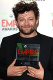 King Kong Photo - Andy Serkis Accepts the Best Movie Award For King Kong Sony Ericsson Empire Awards 2006 Hilton Metropole London A18346 Photo by Karwai Tang-alpha-Globe Photos