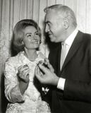 Donna Reed Photo - Donna Reed and Lorne Greene Golden Apple Winners at Hollywood Womens Press Club Photo Nate CutlerGlobe Photos Inc
