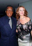 Beyonce Photo - - Beyonce New Album Party For Dangerously in Love - Mondrian Hotel West Hollywood CA - 06242003 - Photo by Ed Geller  Egi  Globe Photos Inc 2003 - Don Cornelius and His Wife