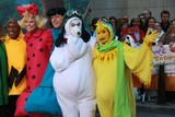 Savannah Guthrie Photo - Meredith Vieirawillie Geistcarson Daleynatalie Moralestamron Hallal Rokersavannah Guthriematt Lauerhoda Kotbkate Lee Gifford at Nbcs todayspooktacular Costume Party at Rockefeller Plaza 10-30-2015 John BarrettGlobe Photos