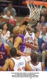 Latrell Sprewell Photo - new York Knicks Vs Toronto Paptors at Madison Square Garden 042201 Marcus Camby Kurt Thomas Latrell Sprewell Photo by John BarrettGlobe Photosinc2001 (D)