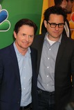 Michael J Fox Photo - Michael Jfoxjj Adams the Michael Jfox Show at NBC Upfront Red-carpet at Radio City Music Hall 5-13-2013 Photo by John BarrettGlobe Photos