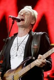 Sting Photo - Sting Live 8 Hyde Park London Uk July 02 Photo by Alec Michael-Globe Photos Inc