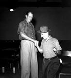 Jimmy Durante Photo - John Wayne and Jimmy Durante Hfc205 Globe Photos Inc Johnwayneretro