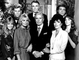 John Forsythe Photo - Dynasty Heather Locklear_linda Evans_john Forsythe Joan Collins_pamela Sue Martin_al Corley Lee Bergere_john James SmpGlobe Photosinc Movie Tv Stills