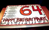Maury Povich Photo - Maury Povichs 64th Birthday I172003 Photo Barry Talesnick Ipol Globe Photos Inc 2003 Cake Exclusive