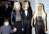Gianni Versace Photo - DAVE BENETTALPHA 049338 14102002MADONNA WITH DAUGHTER LOURDES CHELSEA CLINTON  DONATELLA VERSACE-STAR STUDDEN PARTY FOR VA EXHIBITION VERSACE AT THE VA - A RETROSPECTIVE OF THE WORK OF GIANNI VERSACEAT THE VICTORIA AND ALBERT MUSEUM SOUTH KENSINGTON LONDONA12277       CREDIT ALPHAGLOBE PHOTOS INC