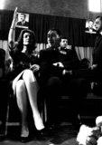 Anthony Quinn Photo - Laurenbacallretro Lauren Bacall_anthony Quinn Photo by Orlando  Globe Photosinc