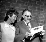 Andy Devine Photo - Andy Devine and Wife c920-10a Nate CutlerGlobe Photos Inc