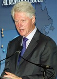 William J Clinton Photo - Former President Bill Clinton attends Press Conference to Announce Partnership Between the William J Clinton Foundation and Audemars Piguet at the Four Seasons Hotel in New York on October10 2007 Photo by PatrickGlobe Photos Inc