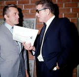 Burt Lancaster Photo - Kirk Douglas and Burt Lancaster Globe Photos Inc