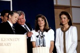 Jackie Onassis Photo - Profile in Courage Award Ceremony at the Jfk Library Boston Mass Jacqueline Kennedy Onassis Photobruce Allen  Ipol  Globe Photos Inc Jacquelinekenndeyonassisretro