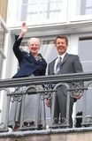 Crown Prince Frederik of Denmark Photo - Crown Prince Frederik of Denmark 40th Birthday-amalienborg Palace Copenhagen Denmark 05-26-2008 Photo by Ricardo Ramirez-richfoto-Globe Photos Inc Queen Margrethe and Prince Frederick of Denmark