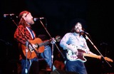 Waylon Jennings Photo - Waylon Jennings and Willie Nelson PhotoGlobe Photos Inc