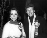 Frankie Avalon Photo - Annette Funicello with Frankie Avalon Photo by Phil RoachipolGlobe Photos Inc