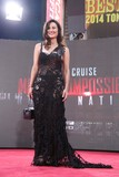 America Olivo Photo - America Olivo attends the Mission Impossiblerogue Nation Us Premiere Times Square NYC July 27 2015 Photos by Sonia Moskowitz Globe Photos Inc