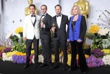 Alexandre Espigares Photo - Matthew Mcconaughey Laurent Witzalexandre Espigares and Kim Novak Pose in the Press Room During the Oscars at Loews Hollywood Hotel on March 2nd 2014 Hollywood Californiausa PhototloweGlobephotos