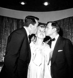 Rock Hudson Photo - Rock Hudson Doris Day and Tony Randall c519-4a Globe Photos Inc Tonyrandallretro