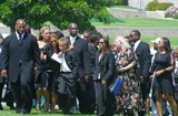 Tazman James Photo - Rick James Memorial Service at Hall of Liberty Forest Lawn Memorial Park Hollywood Hills California 08122004 Photo by Milan RybaGlobe Photos Inc 2004 Ty James and Tazman James