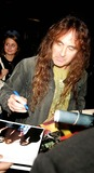 Iron Maiden Photo - Musician Steve Harris of Iron Maiden Signs For Fans in Midtown New York City 10-12-2006 Photos by Rick Mackler Rangefinder-Globe Photos Inc