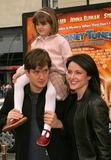 Krista Miller Photo - World Premiere of Looney Tunes - Back in Action at Graumans Chinese Theatre in Hollywood CA - 11092003 - Photo by Kathryn Indiek  Globe Photos Inc 2003 - Krista Miller with Husband Bill Lawrence and Daughter Charlotte